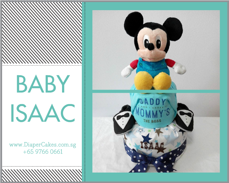 2Tier-DiaperCakesSingapore-BabyGifts-Mickey-Boy-Isaac-5