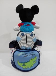 2Tier-DiaperCakesSingapore-BabyGifts-Mickey-Boy-Maven-2