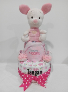 2Tier-DiaperCakesSingapore-BabyGifts-Piglet-Girl-Taegan-1
