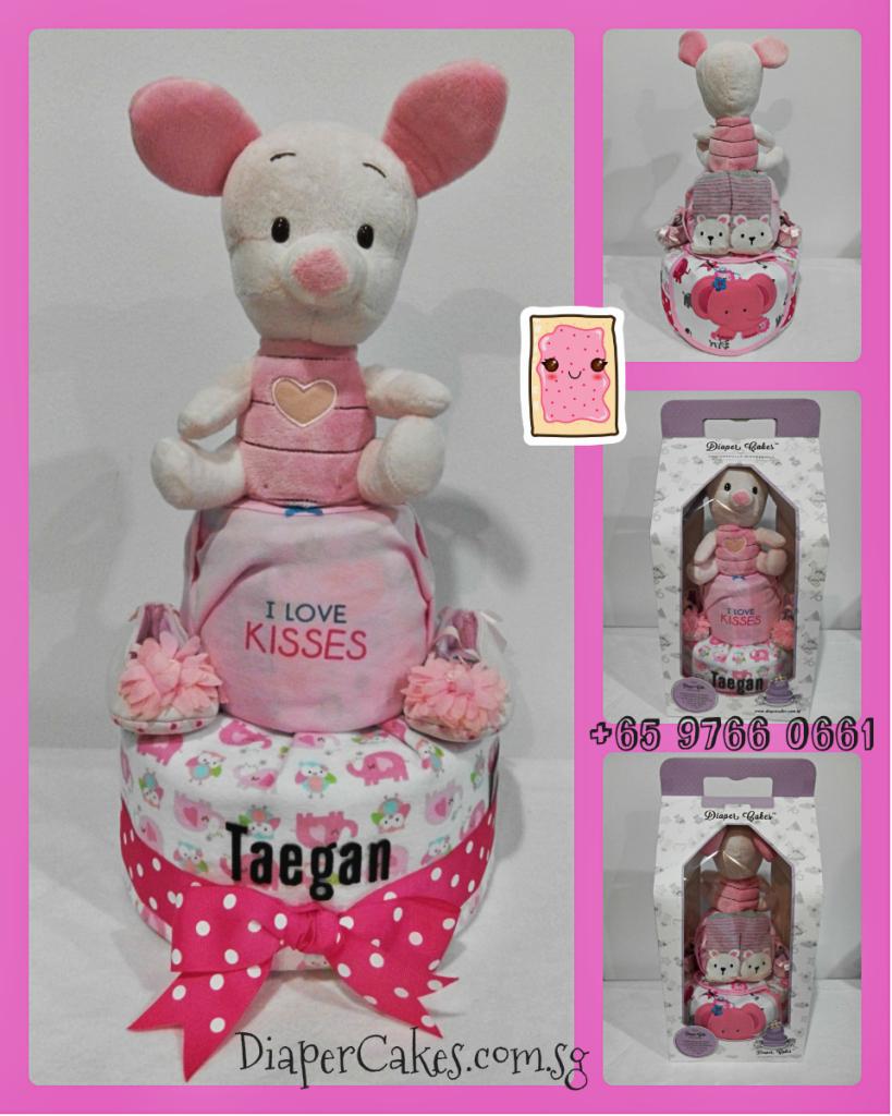 2Tier-DiaperCakesSingapore-BabyGifts-Piglet-Girl-Taegan-5