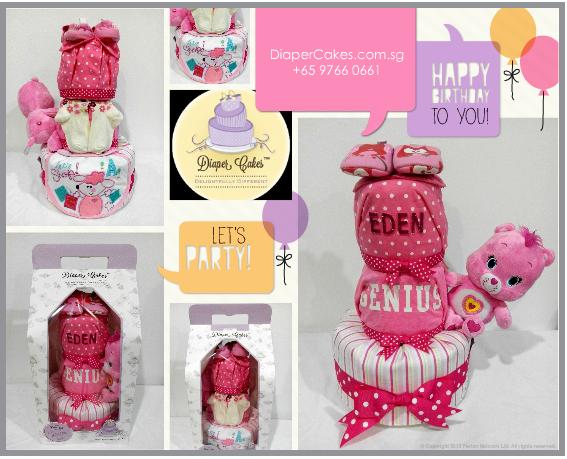 3Tier-DiaperCakesSingapore-BabyGifts-Girl-Carebear-Eden-5