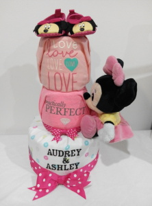 3Tier-DiaperCakesSingapore-BabyGifts-Girl-Twins-Minnie-Audrey-Ashley-1