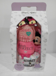3Tier-DiaperCakesSingapore-BabyGifts-Girl-Twins-Minnie-Audrey-Ashley-3