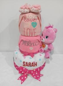 3Tier-DiaperCakesSingapore-BabyGifts-WonderBear-Girl-Sarah-1