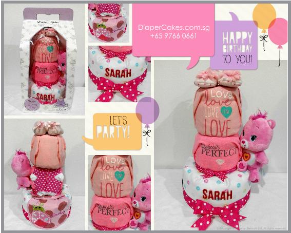 3Tier-DiaperCakesSingapore-BabyGifts-WonderBear-Girl-Sarah-5