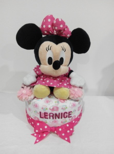 1Tier-DiaperCakesSingapore-BabyGifts-Girl-Minnie-Lernice-1