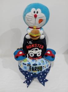 2Tier-DiaperCakesSingapore-BabyGifts-Doraemon-Boy-Faruq-1