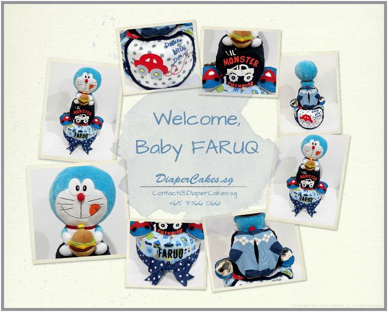 2Tier-DiaperCakesSingapore-BabyGifts-Doraemon-Boy-Faruq-3
