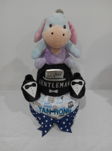 2Tier-DiaperCakesSingapore-BabyGifts-Eeyore-Boy-YanRong-1