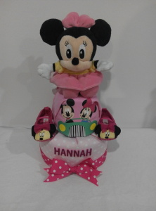 2Tier-DiaperCakesSingapore-BabyGifts-Girl-Minnie-Hannah-1