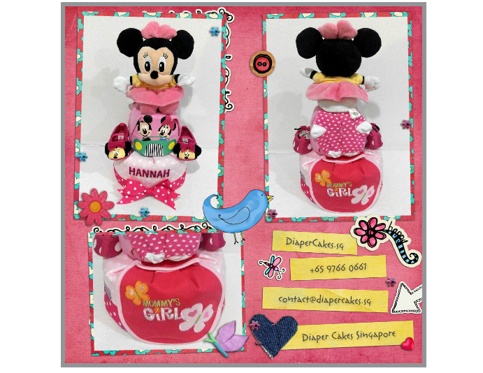 2Tier-DiaperCakesSingapore-BabyGifts-Girl-Minnie-Hannah-3