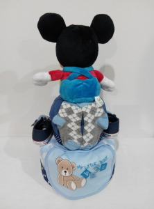 2Tier-DiaperCakesSingapore-BabyGifts-Mickey-Boy-Hansel-2