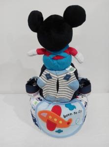 2Tier-DiaperCakesSingapore-BabyGifts-Mickey-Boy-Rafael-2