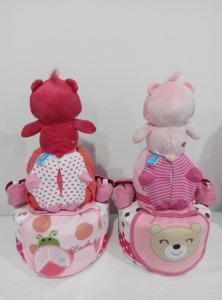 2Tier-DiaperCakesSingapore-BabyGifts-PinkCareBear-WonderHeartBear-Girl-twins-Shermaine-Germaine-2