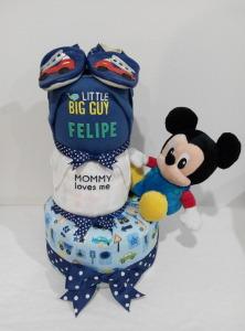 3Tier-DiaperCakesSingapore-BabyGifts-Mickey-Boy-Felipe-1
