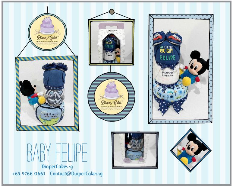 3Tier-DiaperCakesSingapore-BabyGifts-Mickey-Boy-Felipe-5