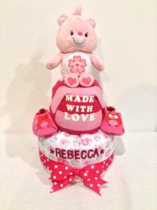 2Tier-BabyGift-DiaperCakesSingapore-BabyGirl-Rebecca-1