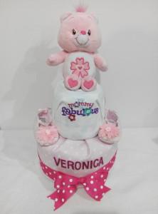 2Tier-BabyGift-DiaperCakesSingapore-BabyGirl-Veronica-1