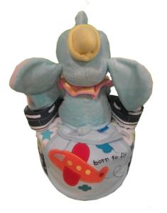 1Tier-DiaperCakesSingapore-BabyGift-Elephant-BabyBoy-Dylan-2