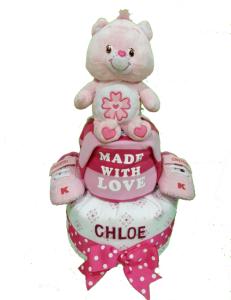 2Tier-BabyGift-DiaperCakesSingapore-BabyGirl-Chloe-1