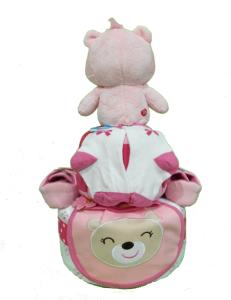 2Tier-BabyGift-DiaperCakesSingapore-BabyGirl-Chloe-2