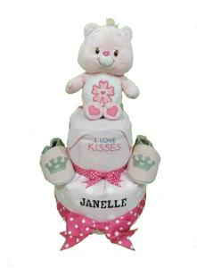 2Tier-BabyGift-DiaperCakesSingapore-BabyGirl-Janelle-1