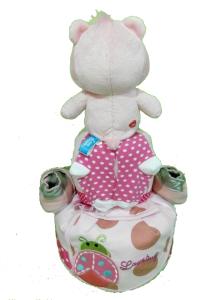 2Tier-BabyGift-DiaperCakesSingapore-BabyGirl-Janelle-2