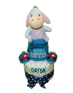 2Tier-DiaperCakesSingapore-BabyGift-Eeyore-BabyBoy-Dayen-1