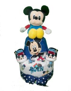 2Tier-DiaperCakesSingapore-BabyGift-Mickey-BabyBoy-Coen-1