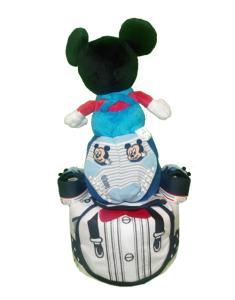 2Tier-DiaperCakesSingapore-BabyGift-Mickey-BabyBoy-Coen-2