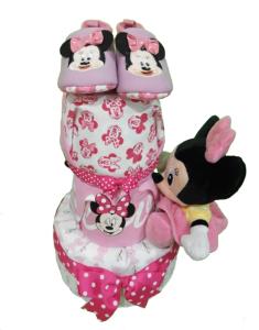 3Tier-DiaperCakesSingapore-BabyGift-Minnie-BabyGirl-1