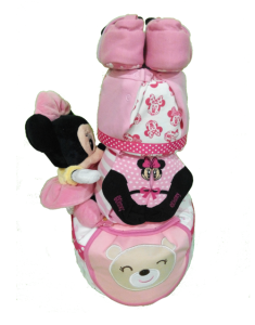 3Tier-DiaperCakesSingapore-BabyGift-Minnie-BabyGirl-2
