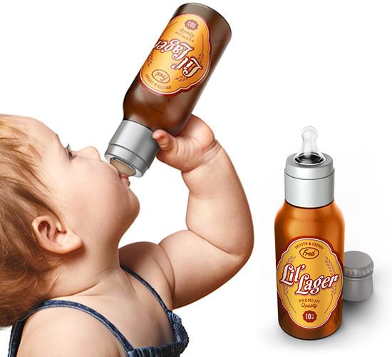 Baby Beer Bottle for Milk