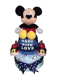 MickeyMouseDiaperCake