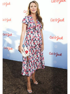 Blake Lively attends Target's Cat & Jack kids and baby apparel launch event at Brooklyn Bridge Park on Thursday, July 21, 2016, in New York. (Photo by Andy Kropa/Invision/AP)