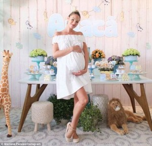 Pregnant Candice Swanepoel, Celebrity Baby Showers
