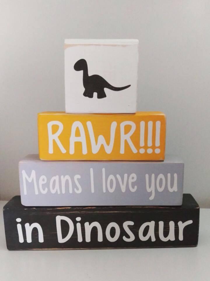 dinosaur baby Nursery decoration