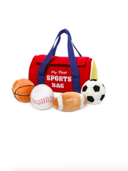 GUND My First Sports Bag Playset