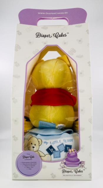 1 tier winnie the pooh diaper cake 3