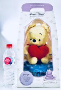 winnie the pooh baby diaper cake 2