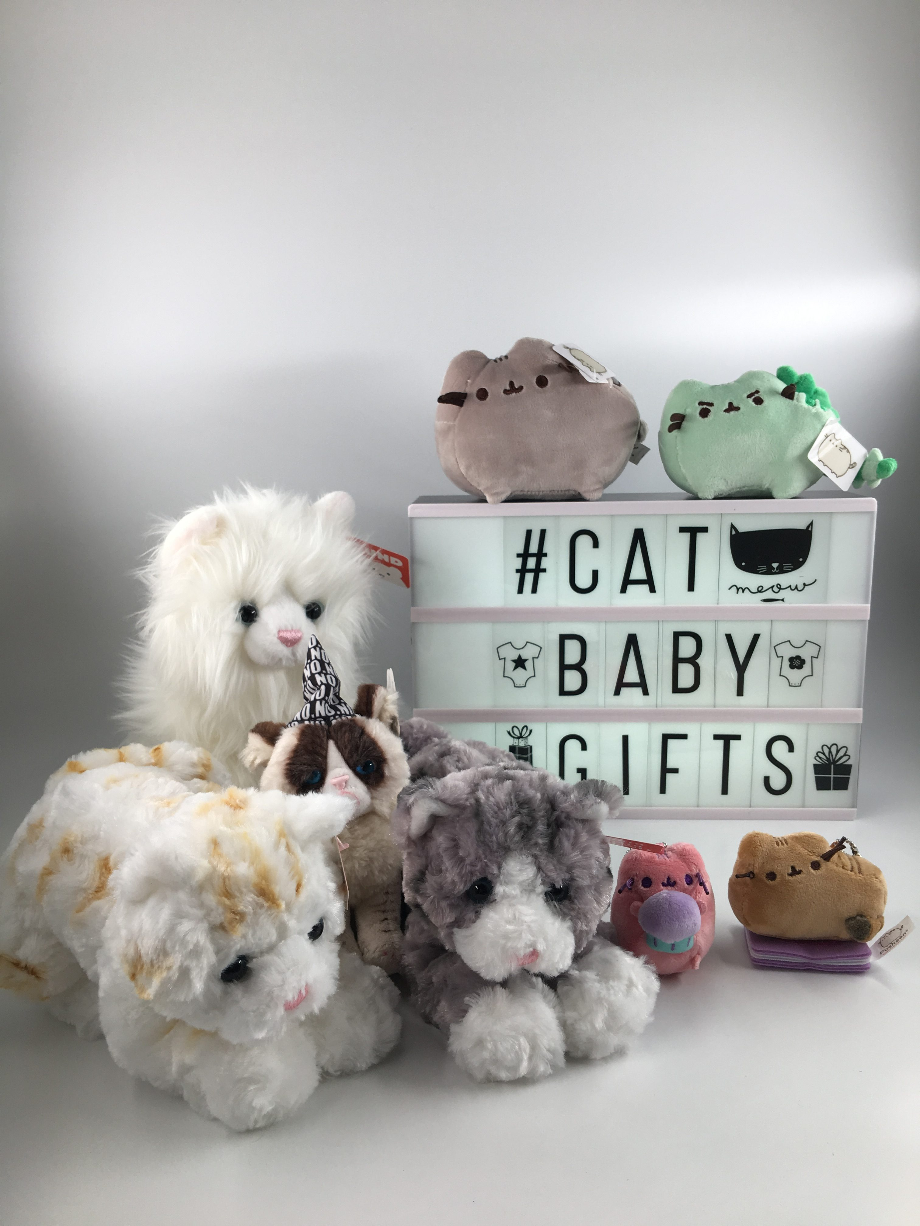 cat soft toy baby gifts