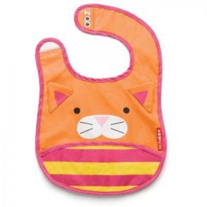 Skip Hop Cat Baby Bib Baby Gifts