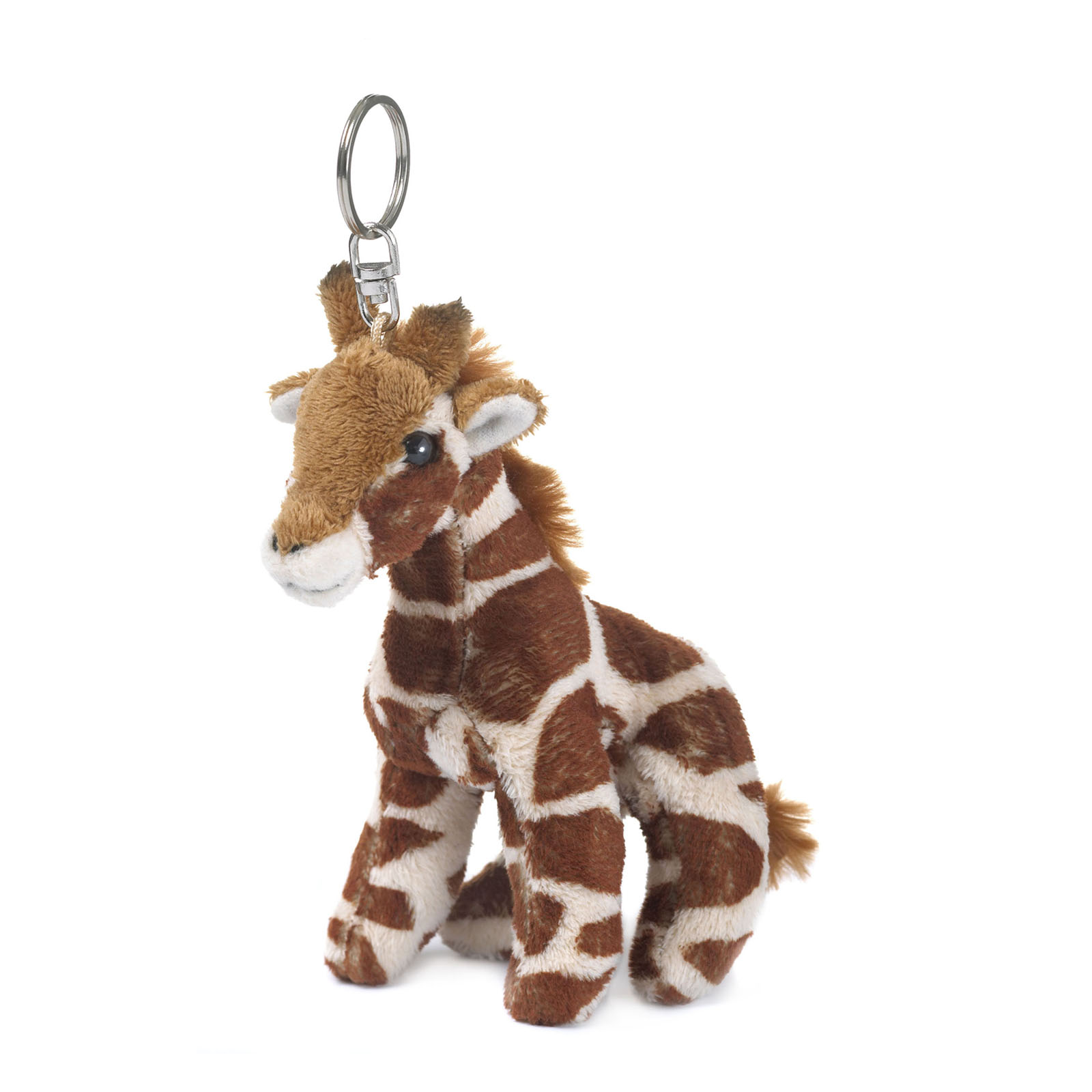 WWF-Plush-Giraffe-toy-Keychain-4-Inches