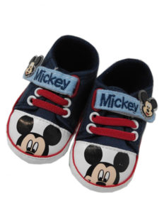 mickey mouse baby gift shoes